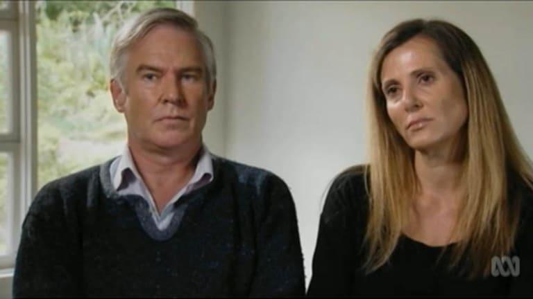 Michael Lawler with his partner Kathy Jackson.