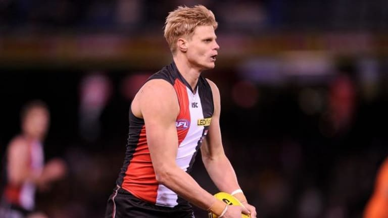 Nick Riewoldt comfortably topped the Saints' goalkicking with 49, and led the competition for marks with 191.