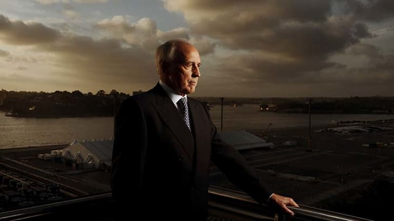 """Sydney a """"whore to stimulus"""": Former PM Paul Keating."""