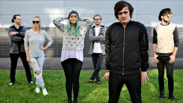 Wholesome image: Six-piece indie pop band Sheppard.