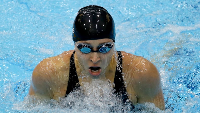 Abuse claims: Olympic swimmer Ariana Kukors.