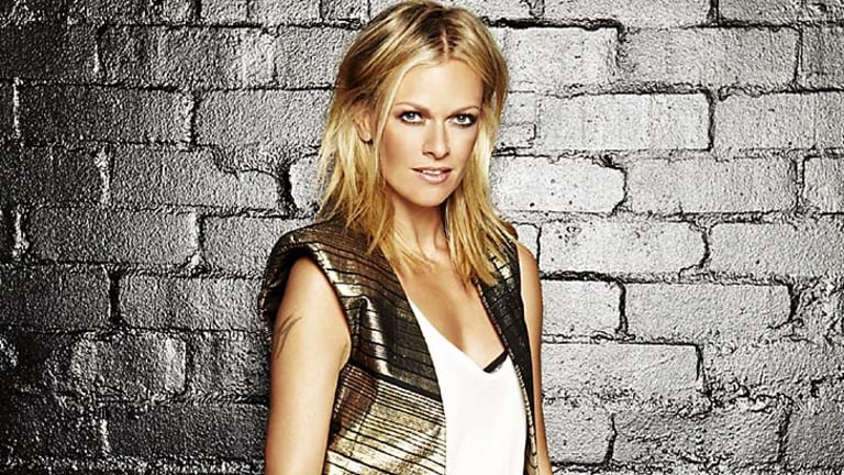 Strong competition ... Sarah Murdoch.