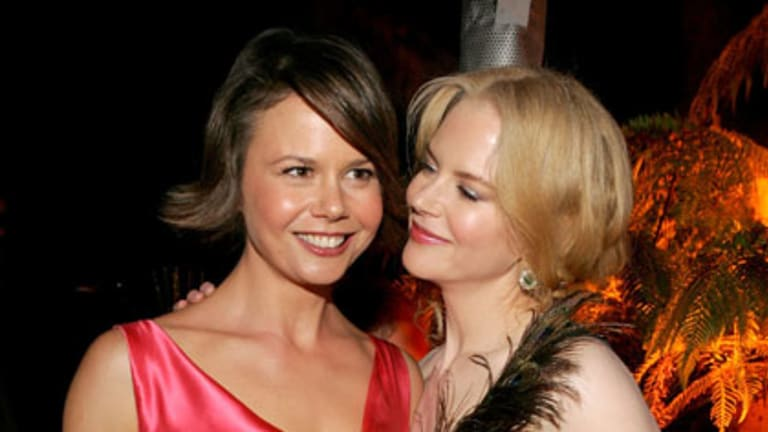 Sisters Nicole and Antonia Kidman at the Miramax 2005 Golden Globes after party.
