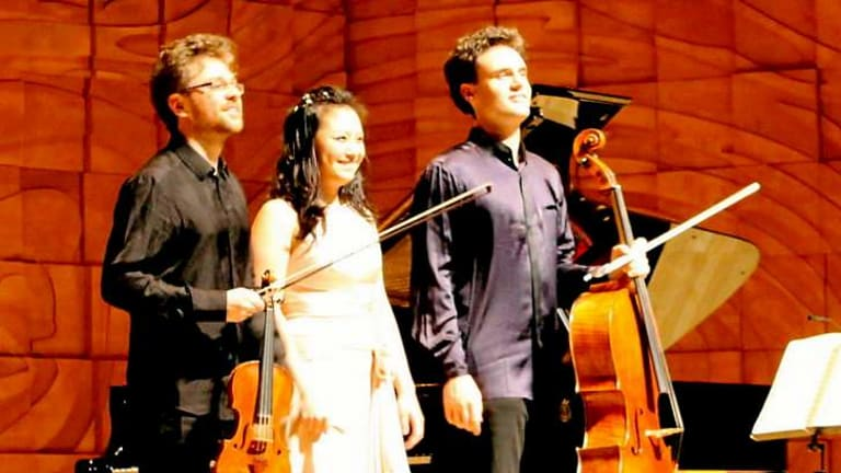 The Sitkovesky Trio: An outstanding performance.