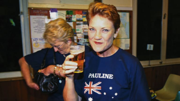 New horizons ... Pauline Hanson says  Australia is no longer the land of opportunity.  She is planning to move to Britain after selling her Queensland property.