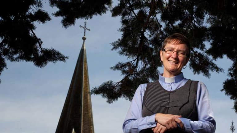 ''I feel a little bit overwhelmed'' … Archdeacon Genieve Blackwell will be consecrated in March and become assistant bishop of the diocese of Canberra and Goulburn.