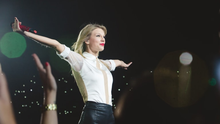 Pop phenomenon Taylor Swift.