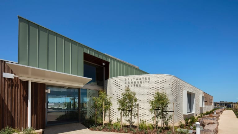 Croxon Ramsay's Saltwater Community Centre aims to build connections between locals.
