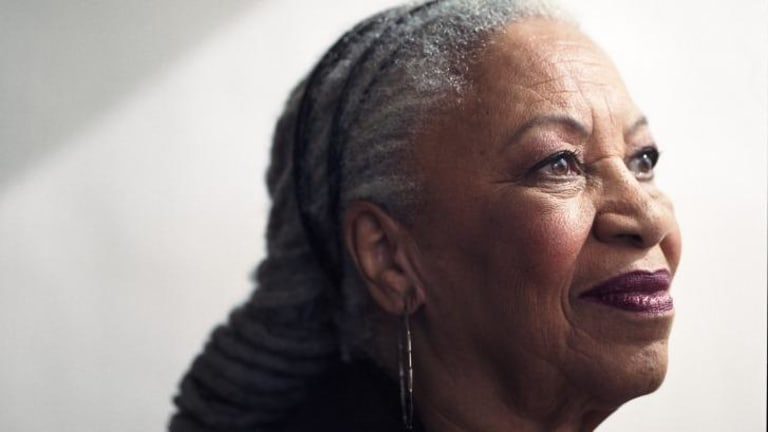 Toni Morrison says the most important thing in writing <i>Desdemona</i> was to remove Iago's 'white male gaze'.