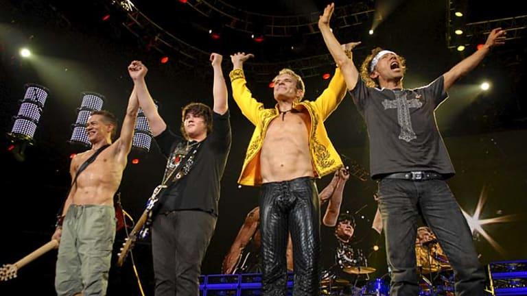 US rock veterans Van Halen who were booked to headline Soundwave Revolution.