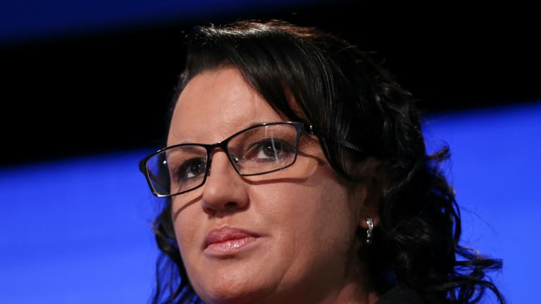 Independent senator Jacqui Lambie suggested electronic bracelets could be used on Syrian refugees.