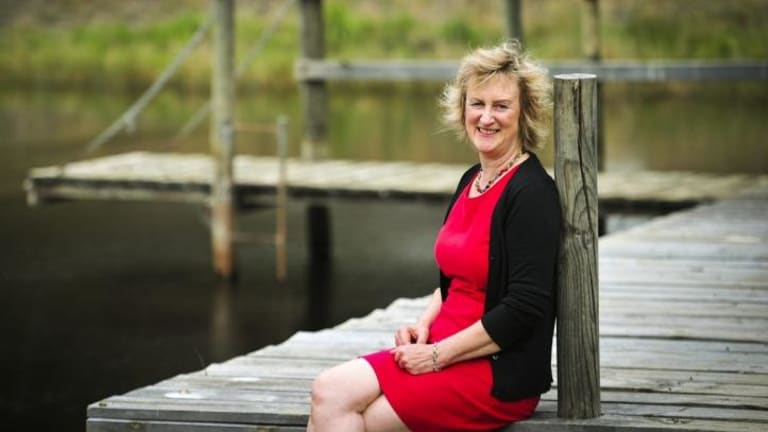 """""""I've been connected with the church, but … I have massive problems with the institution"""": Robyn Cadwallader."""