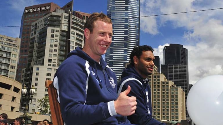 Will he or won't he: Steve Johnson's fitness could decide the outcome of today's game.