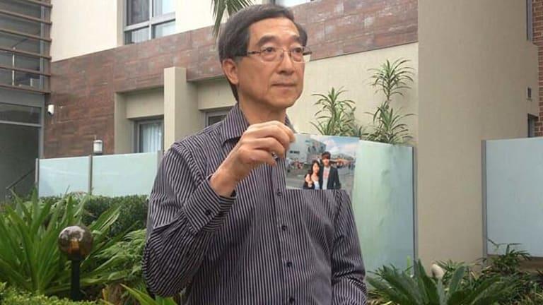 Says his son was a good boy: Stephen Kwan.