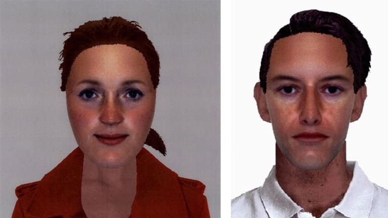 The woman was also described as Caucasian and in her 20s, with a medium build and a tanned complexion. he man was described as Caucasian and in his 30s. He had a slim build with a fair complexion with short dark hair and a prominent nose. He was last seen wearing a business shirt and trousers.