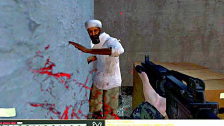 An unarmed bin Laden proves an easy target.