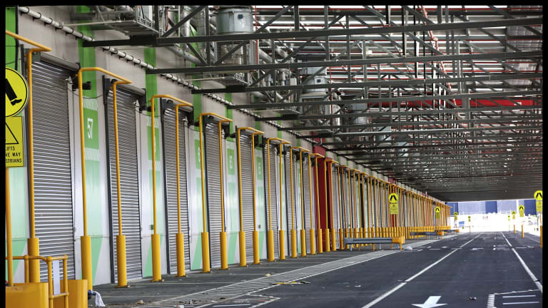 The new $600 million Epping fruit and vegetable wholesale market.