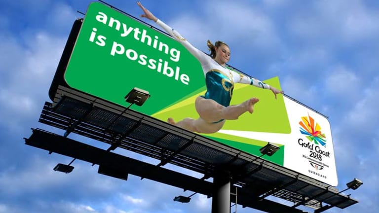 An example of a Commonwealth Games billboard.