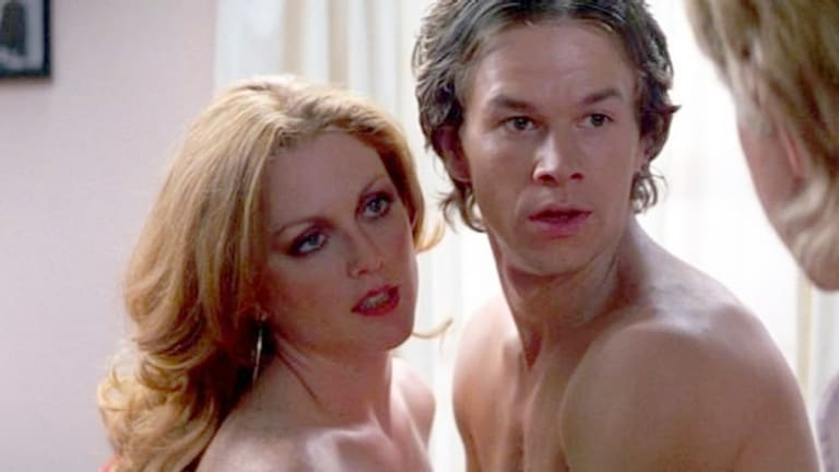 Mark Wahlberg starred alongside Julianne Moore in the 1997 film Boogie Nights.