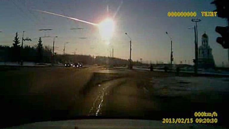 """""""Right now, the amount of warning time that we are likely to get from one of these asteroids is zero"""": B612 Foundation's Edward Lu of the space rock explosion over Chelyabinsk, Russia."""