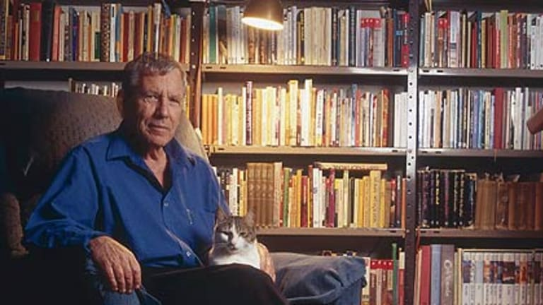 Writer and subject ...Amos Oz