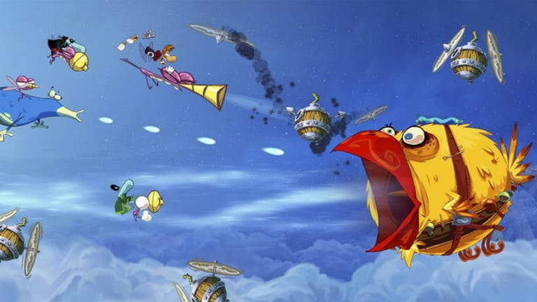 Rayman Origins.