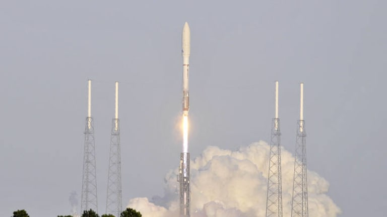 Mystery mission ... an Atlas 5 rocket blasted off with the space plane on March 5, 2011.