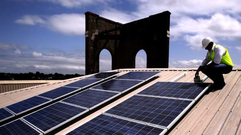 The solar industry is ready to fight the government's rebate cutbacks.