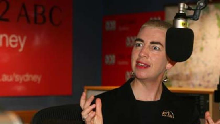 Popular breakfast presenters attract up to 800 calls a show. Above: ABC 702's Deborah Cameron.
