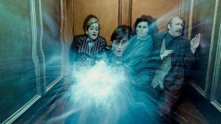 A scene from Harry Potter and the Deathly Hallows Part. 1