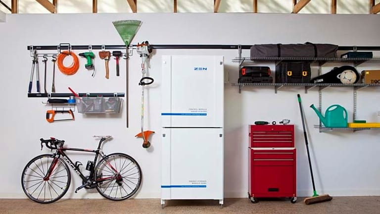ZEN Energy's new storage unit is the size of a fridge.