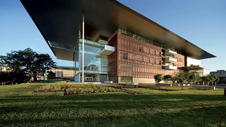 Brisbane's award-winning Gallery of Modern Art.