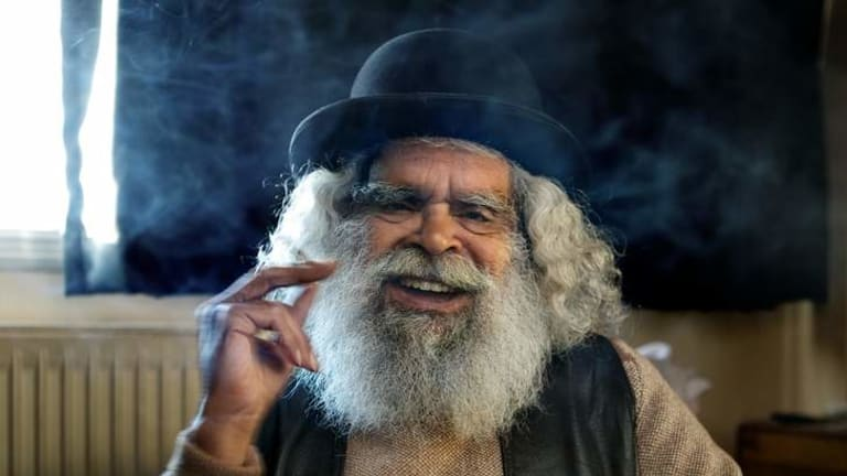 Hot property: Jack Charles continues to challenge and inspire.