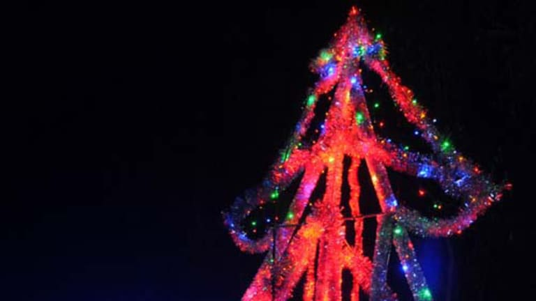 Peter Terren's 2010 Christmas rig purportedly has lighting so bright it can be seen from space.