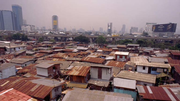 Heart of the slums
