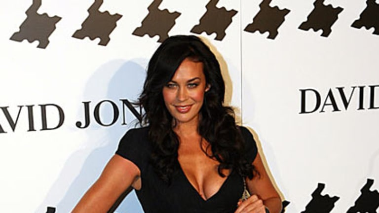 Force of nature ... Megan Gale.