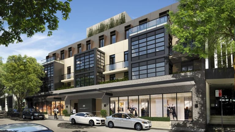 Apartment prices have helped stabilise Sydney's housing market.