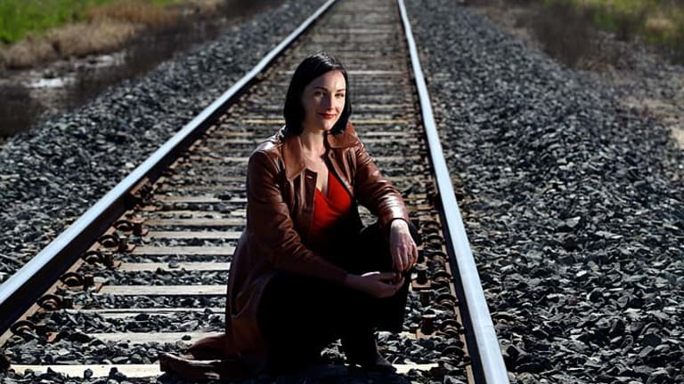On track: Fern Summer believes Australia should have a bullet train within five years.