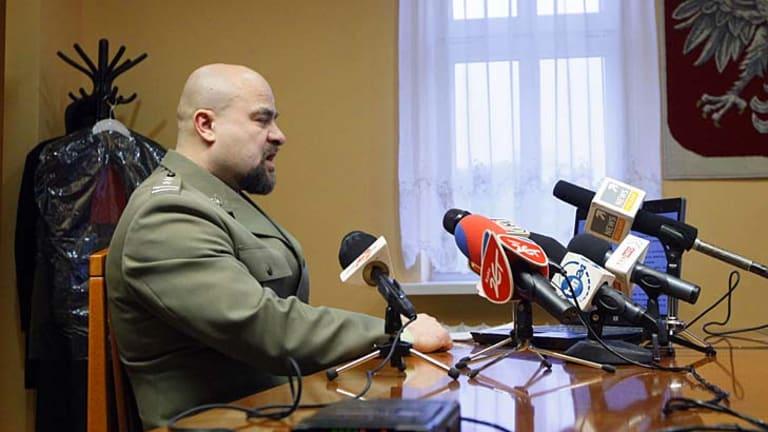 Shot himself ... Colonel Mikolaj Przbyl.