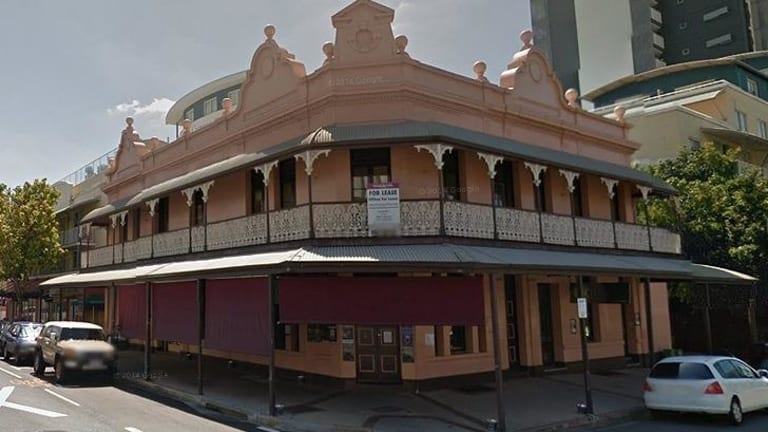 The old Coronation Hotel on Montague Road.