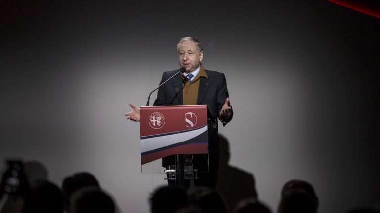 Backing up: Jean Todt has been re-elected unopposed as President of the FIA.