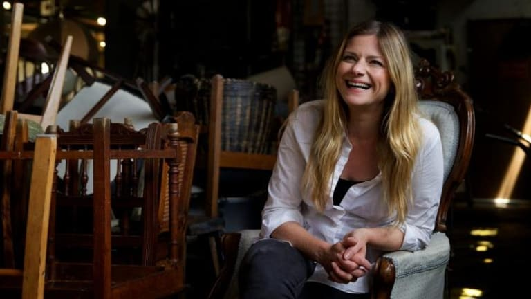 Going for broke: Julia Zemiro is swapping her TV gigs for a return to the theatre in <i>Cyrano de Bergerac</i>.