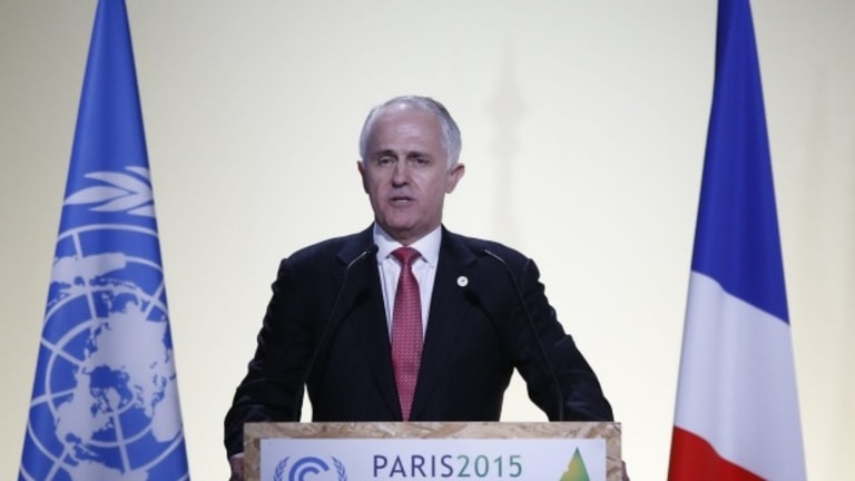 Prime Minister Malcolm Turnbull addresses the conference last week.