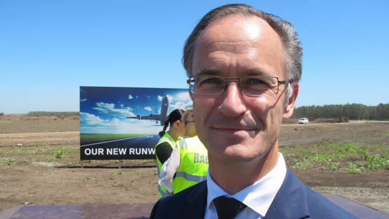 Jan De Nul area manager Yves Bosteels.