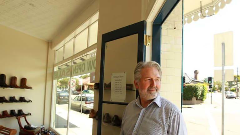 Soul searching … shoe seller Rod McHugh diversified.