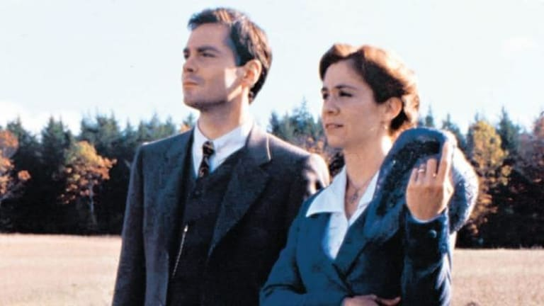 Jonathan Crombie and Megan Follows in <i>Anne of Green Gables: The Continuing Story</i>.