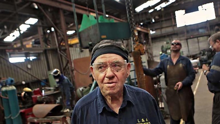 """For the younger people, it's going to be hard"" ... veteran boilermaker Jack Martens at L&A."