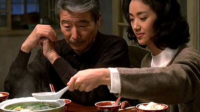 The awkward father and daughter bond... from <i>Eat Drink Man Woman</i>.