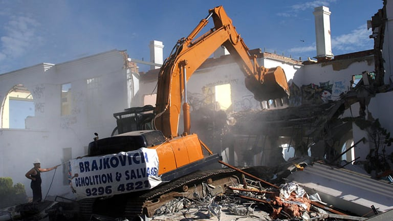 Prix D'Amour is demolished on March 25, 2006.