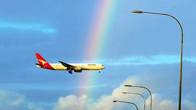 Over the rainbow: It has been a decade since Sydney Airport was taxed.